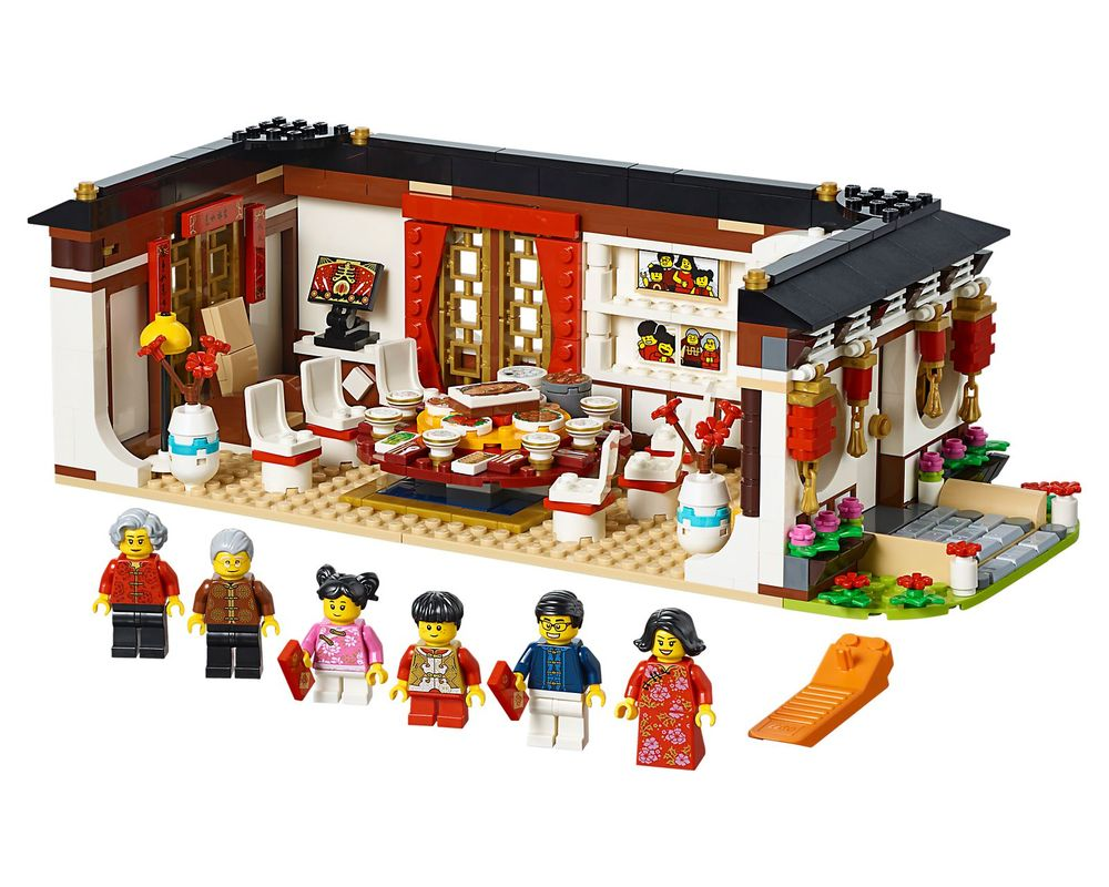 LEGO Set 80101-1 Chinese New Year's Eve Dinner (Model - A-Model)