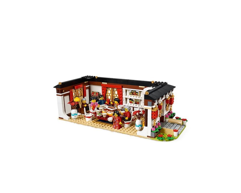 LEGO Set 80101-1 Chinese New Year's Eve Dinner