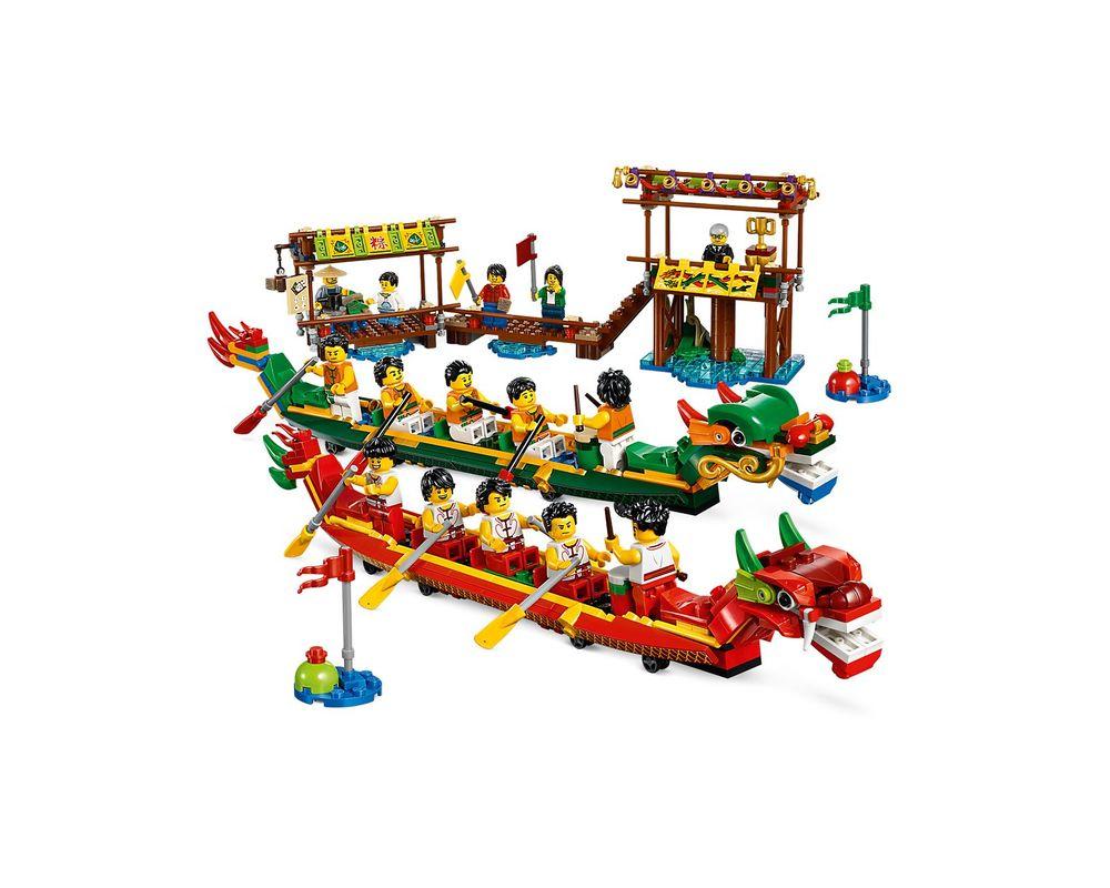 LEGO Set 80103-1 Dragon Boat Race