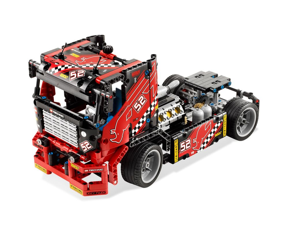 LEGO Set 8041-1 Race Truck (Model - A-Model)