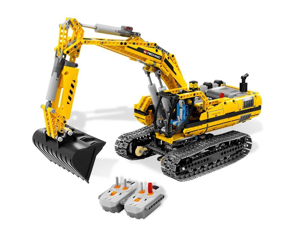LEGO Set 8043-1 Motorized Excavator (Model - A-Model)