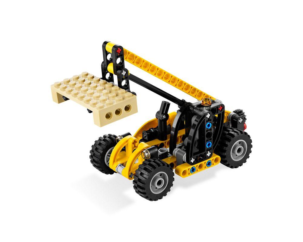 LEGO Set 8045-1 Mini Telehandler (Model - A-Model)