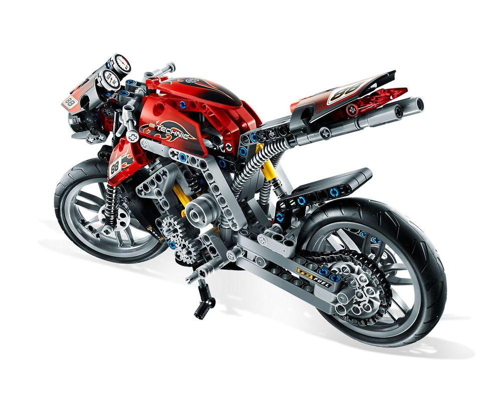 LEGO Set 8051-1 Motorbike