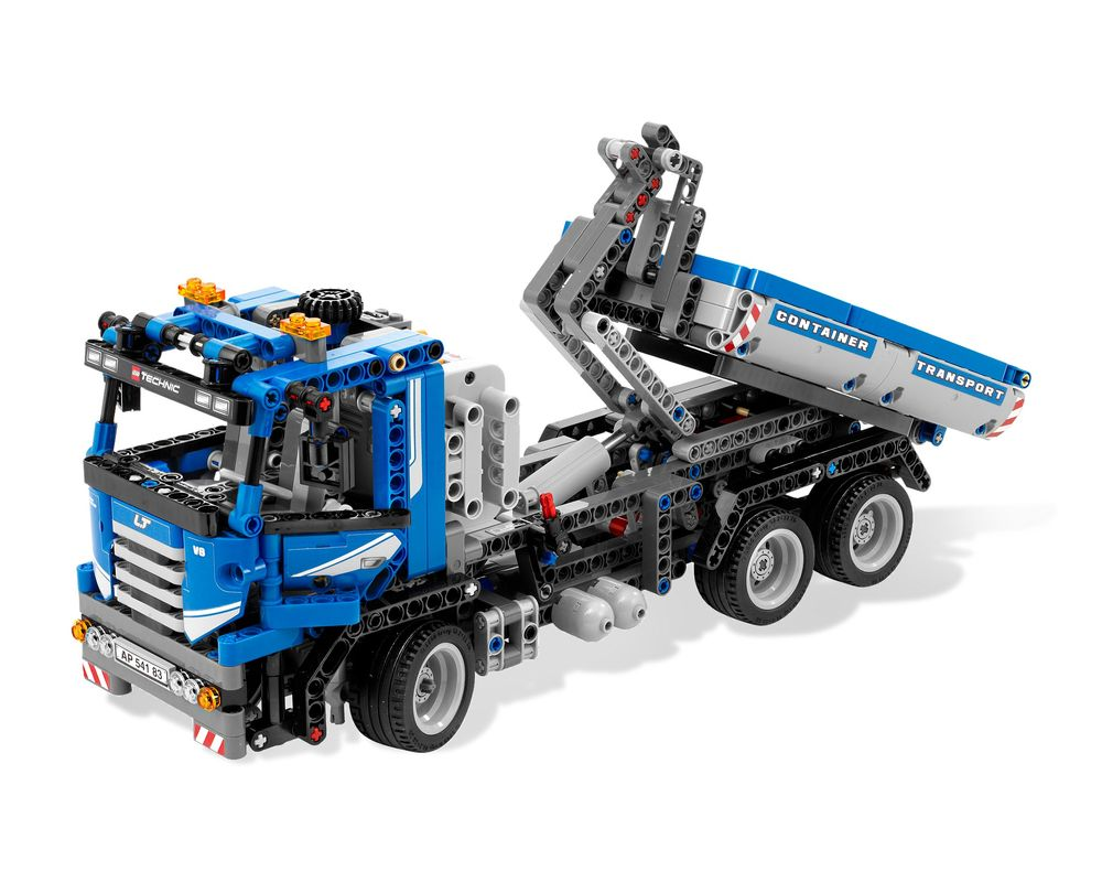 LEGO Set 8052-1 Container Truck (Model - A-Model)