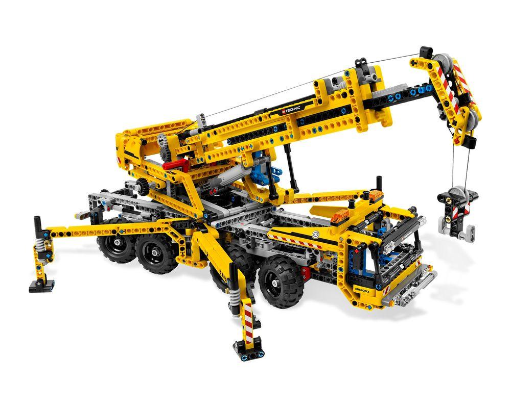 LEGO Set 8053-1 Mobile Crane (Model - A-Model)