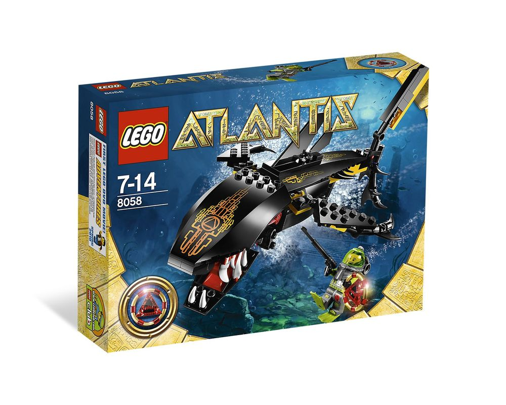 LEGO Set 8058-1 Guardian of the Deep