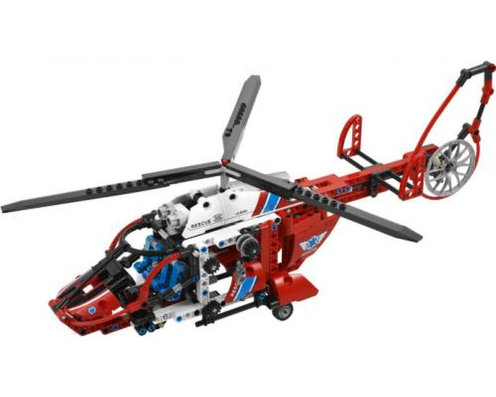 LEGO Set 8068-1 Rescue Helicopter (LEGO - Model)