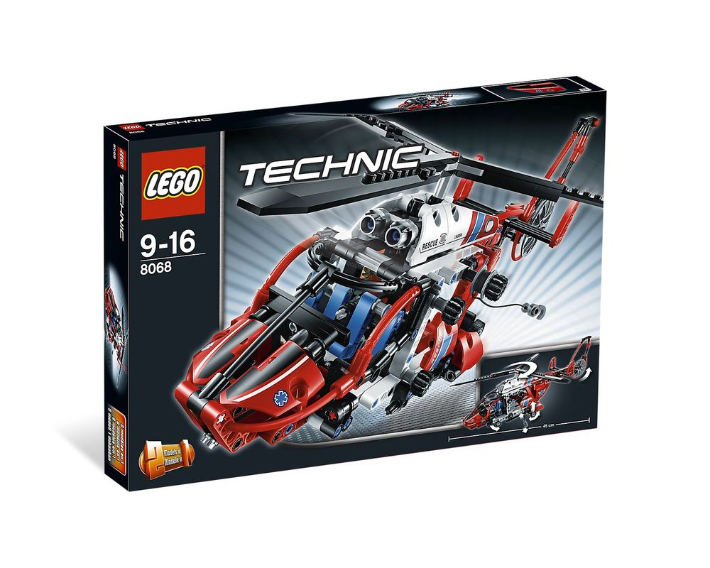 LEGO Set 8068-1 Rescue Helicopter