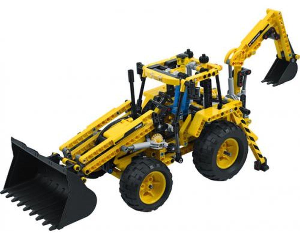 LEGO Set 8069-1 Backhoe Loader (Model - A-Model)
