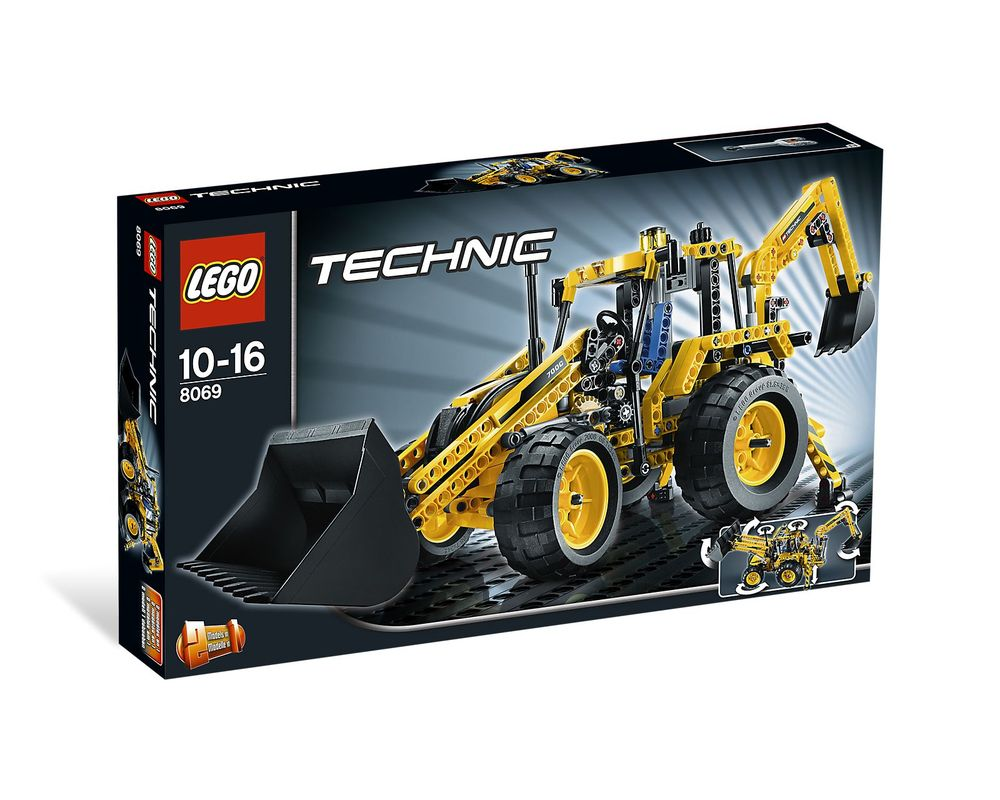 LEGO Set 8069-1 Backhoe Loader