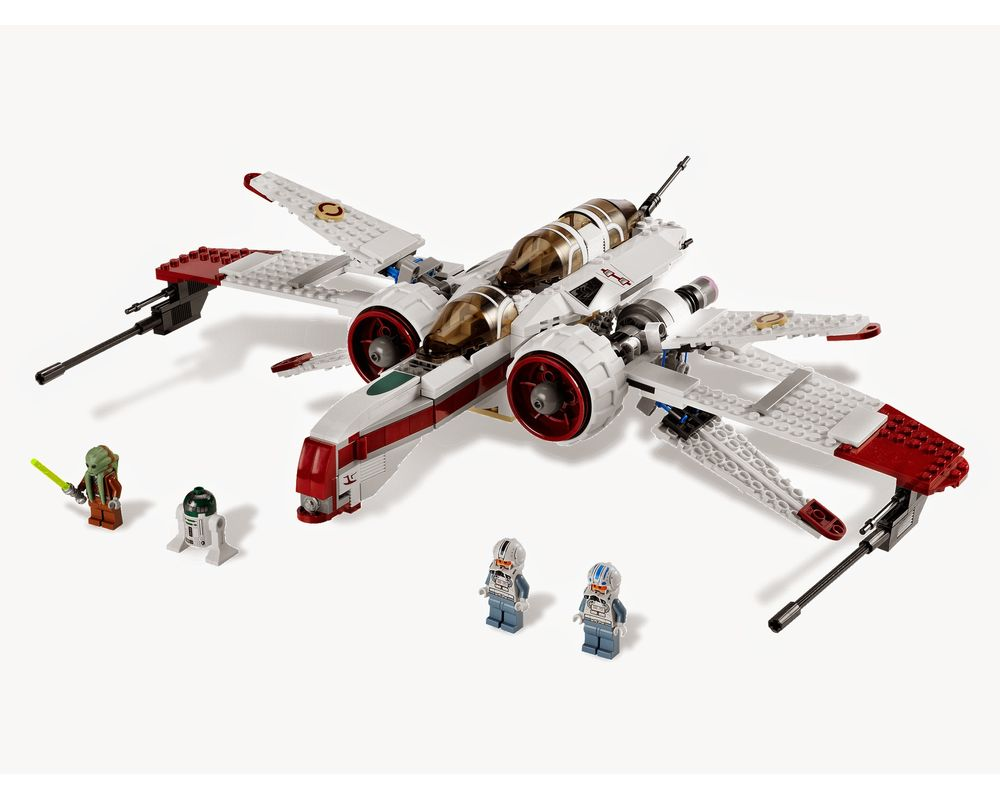 LEGO Set 8088-1 ARC-170 Starfighter (LEGO - Model)