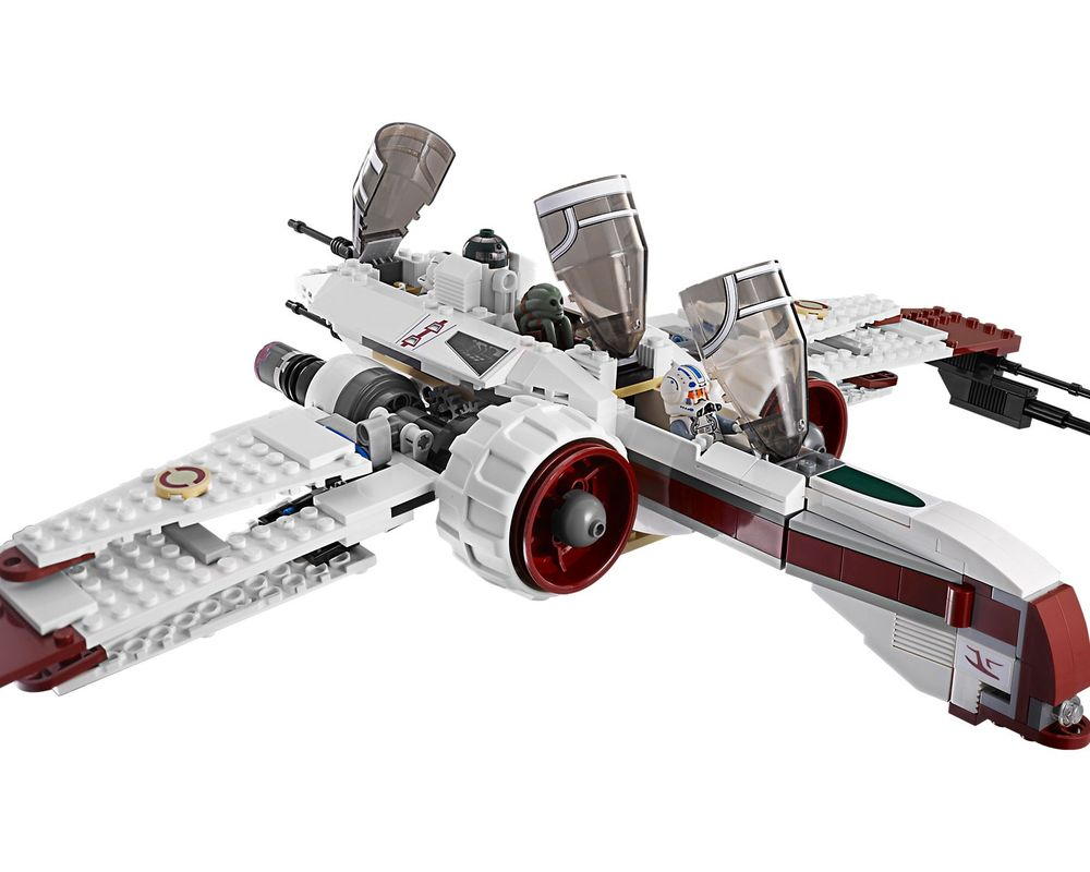 LEGO Set 8088-1 ARC-170 Starfighter