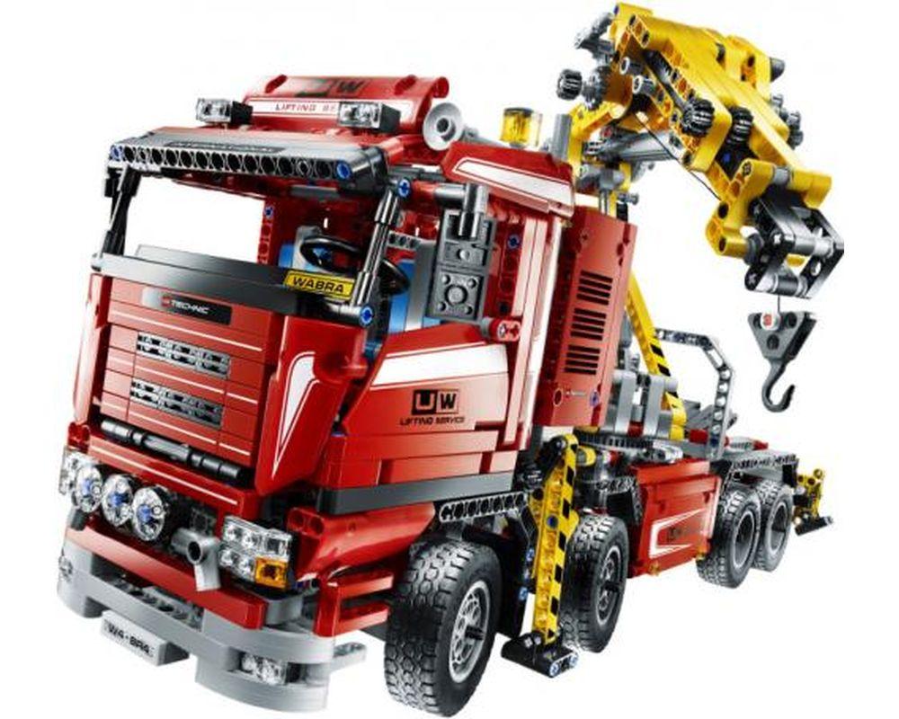 LEGO Set 8258-1 Crane Truck (Model - A-Model)