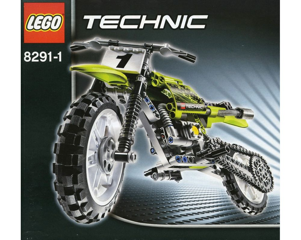 LEGO Set 8291-1 Dirt Bike