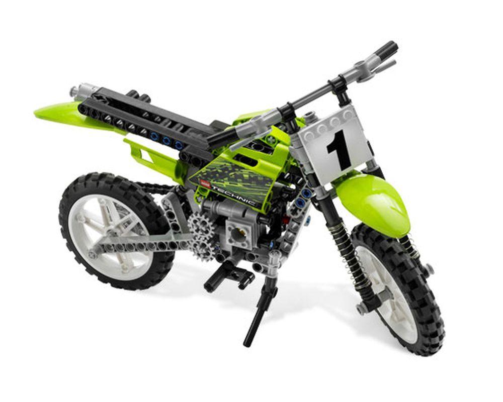 LEGO Set 8291-1 Dirt Bike (Model - A-Model)