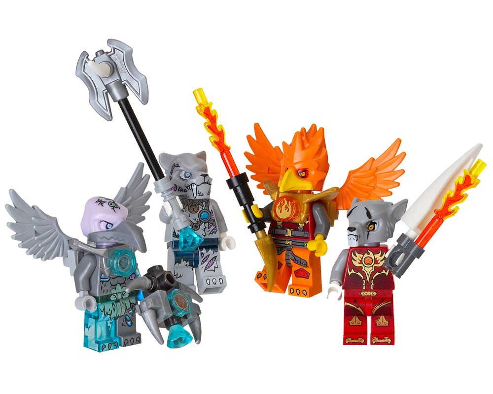 LEGO Set 850913-1 Fire and Ice Minifigure Accessory Set (LEGO - Model)