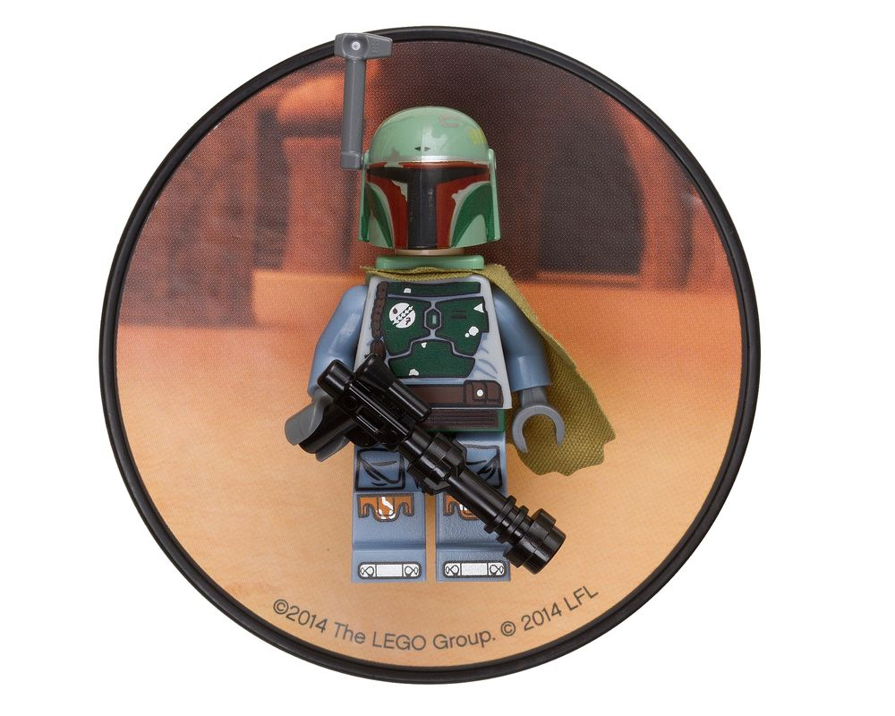 LEGO Set 851317-1 Boba Fett Magnet (Model - A-Model)
