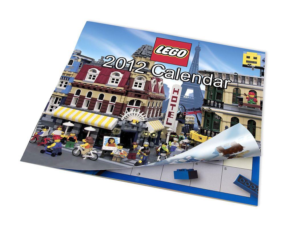 LEGO Set 853352-1 2012 US Calendar