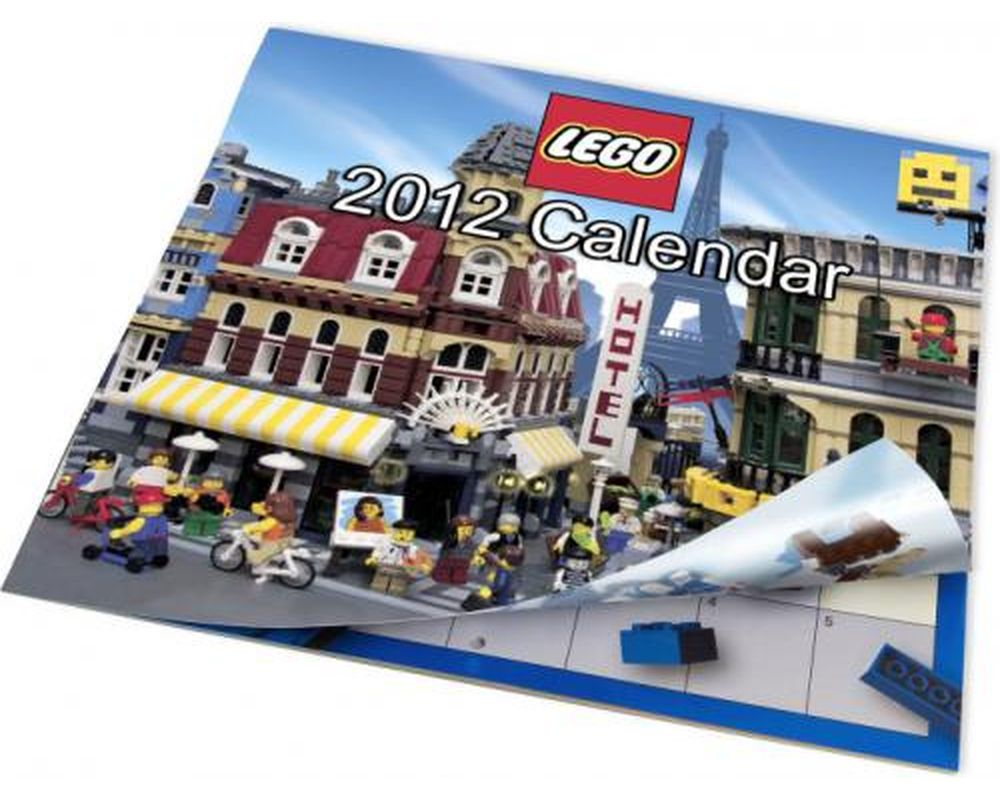 LEGO Set 853352-1 2012 US Calendar (LEGO - Model)