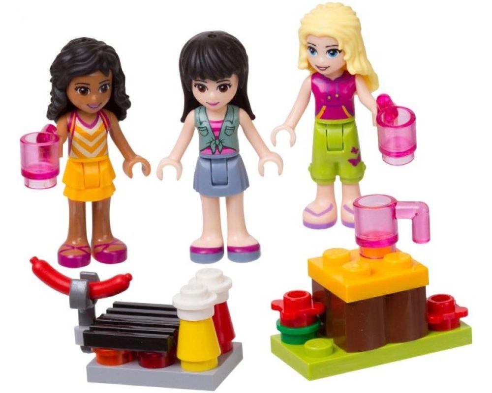 LEGO Set 853556-1 Mini-doll Campsite Set (LEGO - Model)
