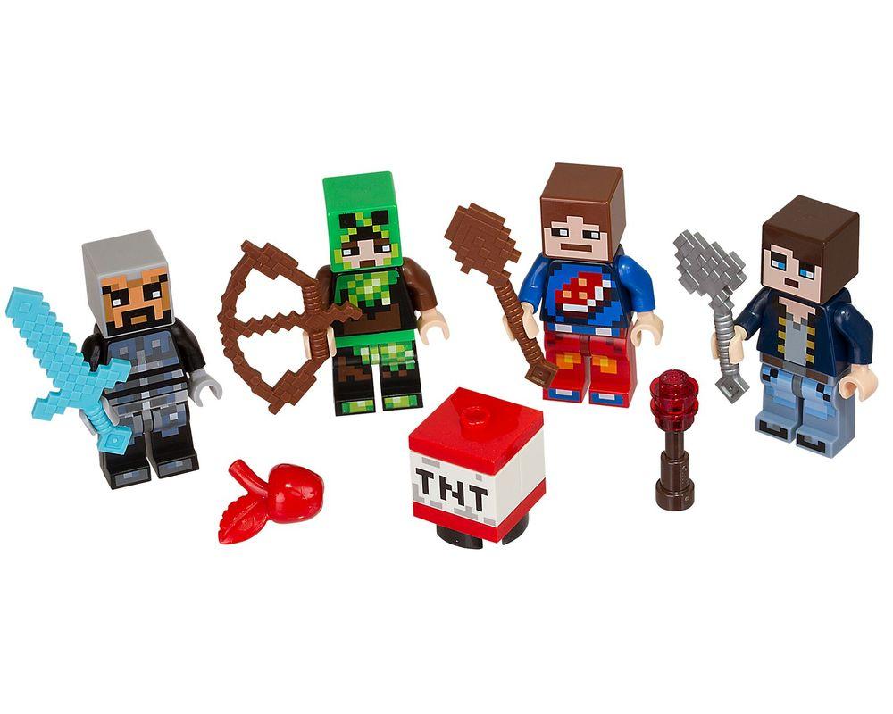 LEGO Set 853609-1 Minecraft Skin Pack