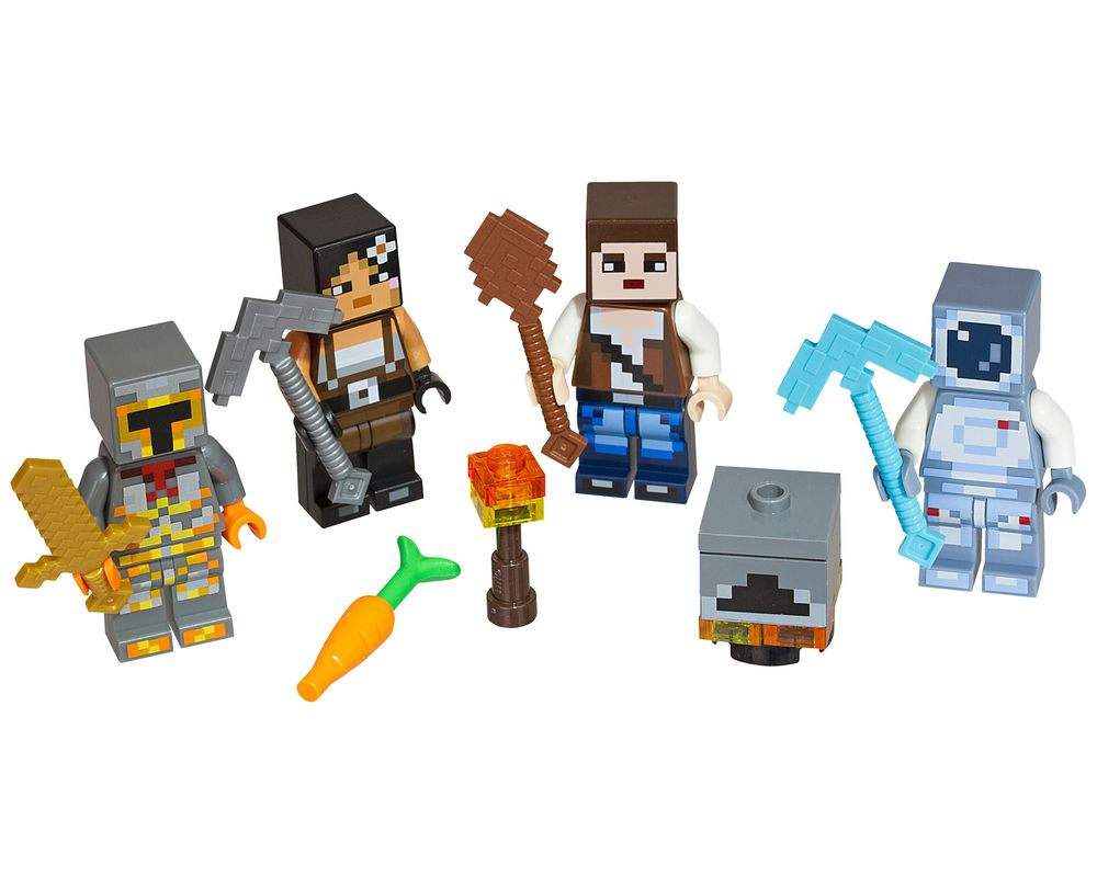 LEGO Set 853610-1 Minecraft Skin Pack 2 (LEGO - Model)