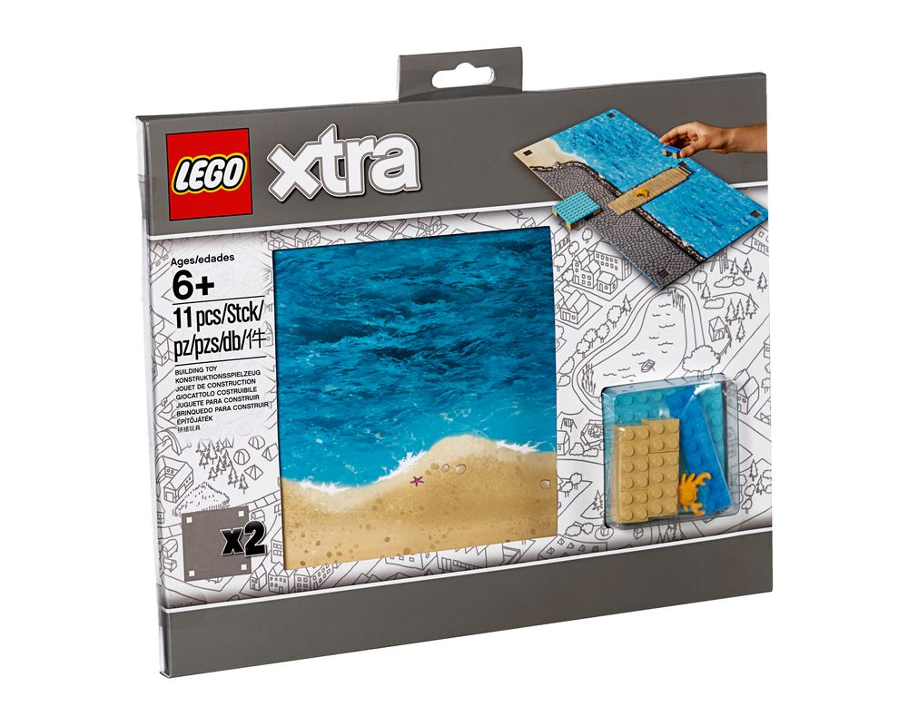 LEGO Set 853841-1 Sea Playmat (LEGO - Model)