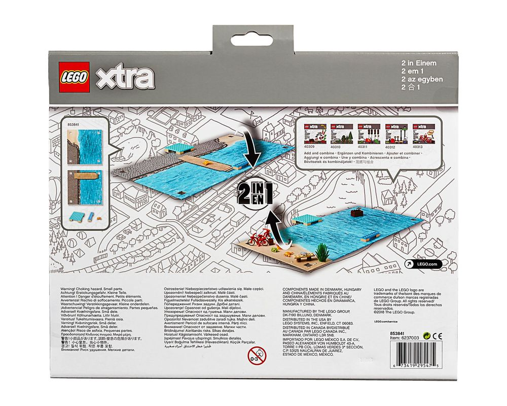 LEGO Set 853841-1 Sea Playmat