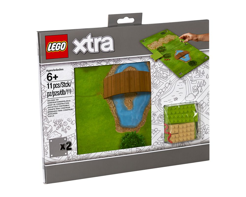 LEGO Set 853842-1 Park Playmat (Model - A-Model)