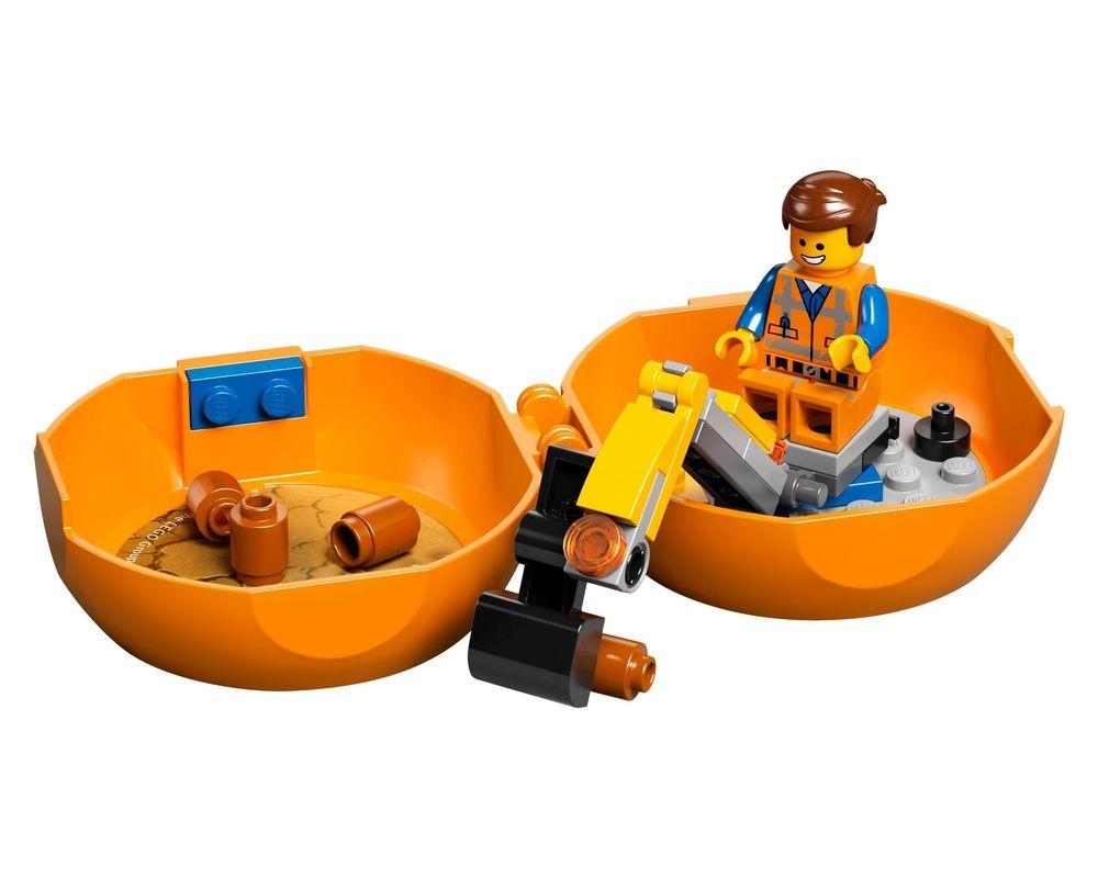 LEGO Set 853874-1 Emmet's Construction Pod (Model - A-Model)