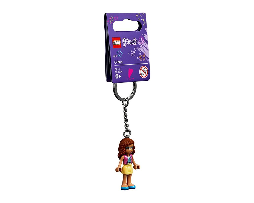 LEGO Set 853883-1 Olivia Key Chain