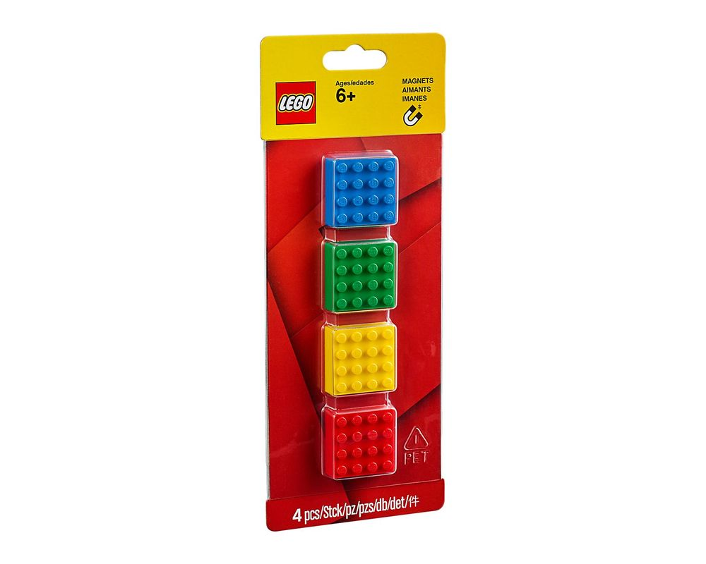 LEGO Set 853915-1 4x4 Brick Magnets Classic