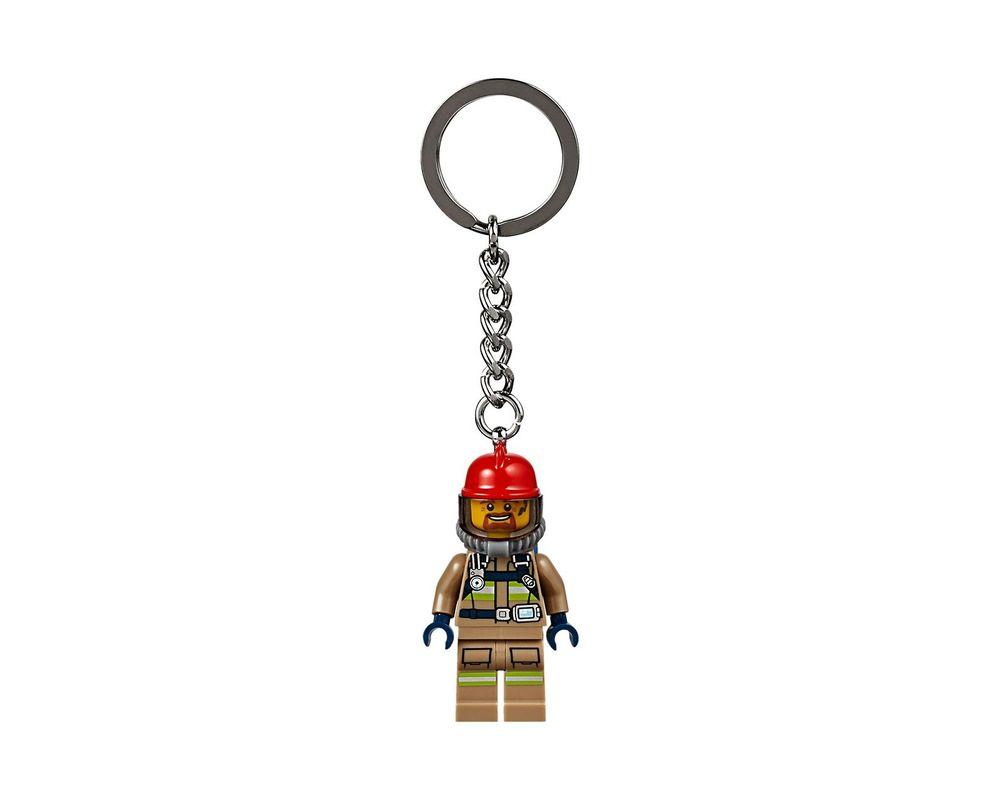 LEGO Set 853918-1 Firefighter Key Chain (LEGO - Model)