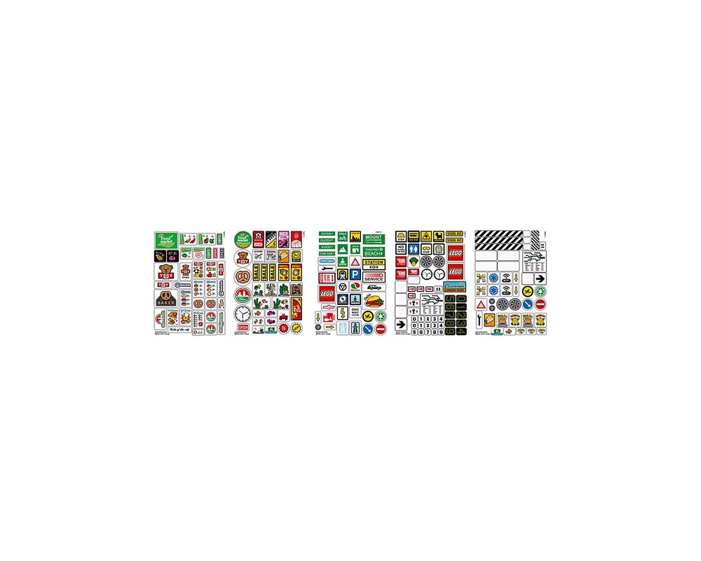 LEGO Set 853921-1 Brick Stickers