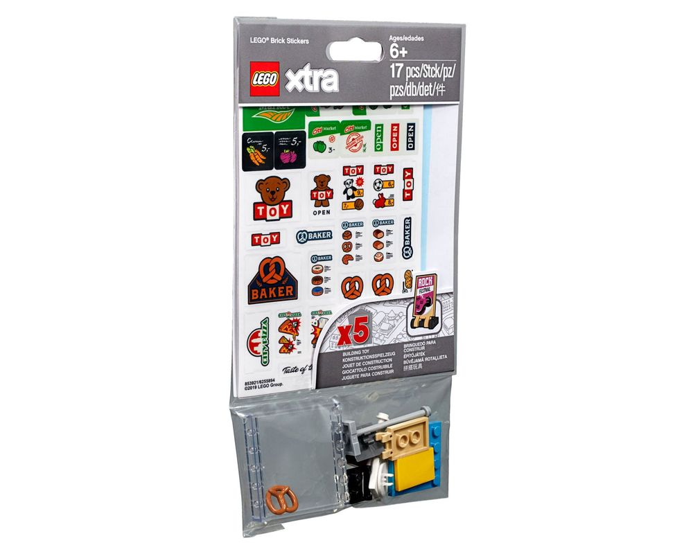LEGO Set 853921-1 Brick Stickers (LEGO - Model)