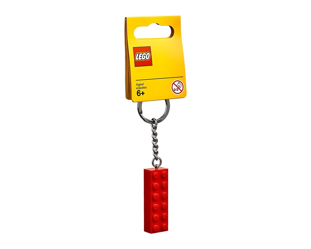 LEGO Set 853960-1 2x6 Brick Key Chain
