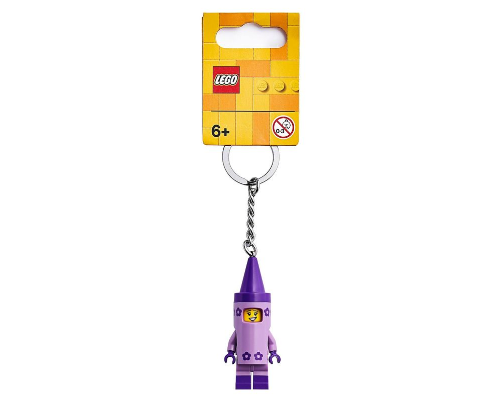 LEGO Set 853995-1 Crayon Girl Key Chain