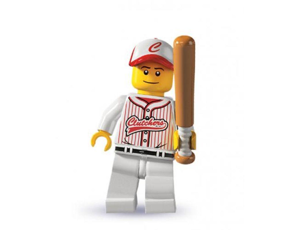 LEGO Set 8803-16 Baseball Player - Complete Set (LEGO - Model)