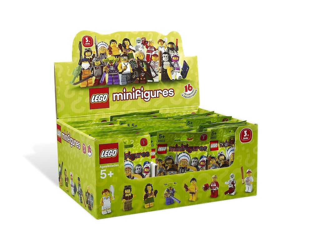 LEGO Set 8803-16 Baseball Player - Complete Set