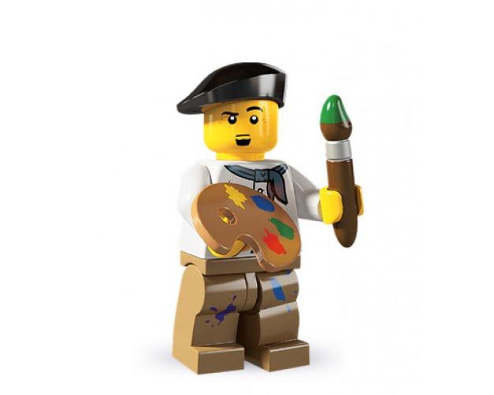 LEGO Set 8804-14 Artist - Complete Set (Model - A-Model)