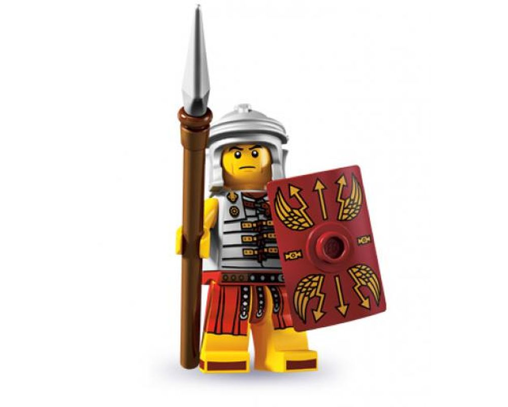 LEGO Set 8827-10 Roman Soldier - Complete Set (LEGO - Model)