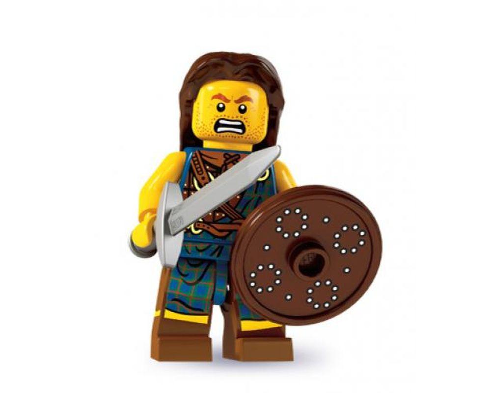 LEGO Set 8827-2 Highland Battler - Complete Set (LEGO - Model)