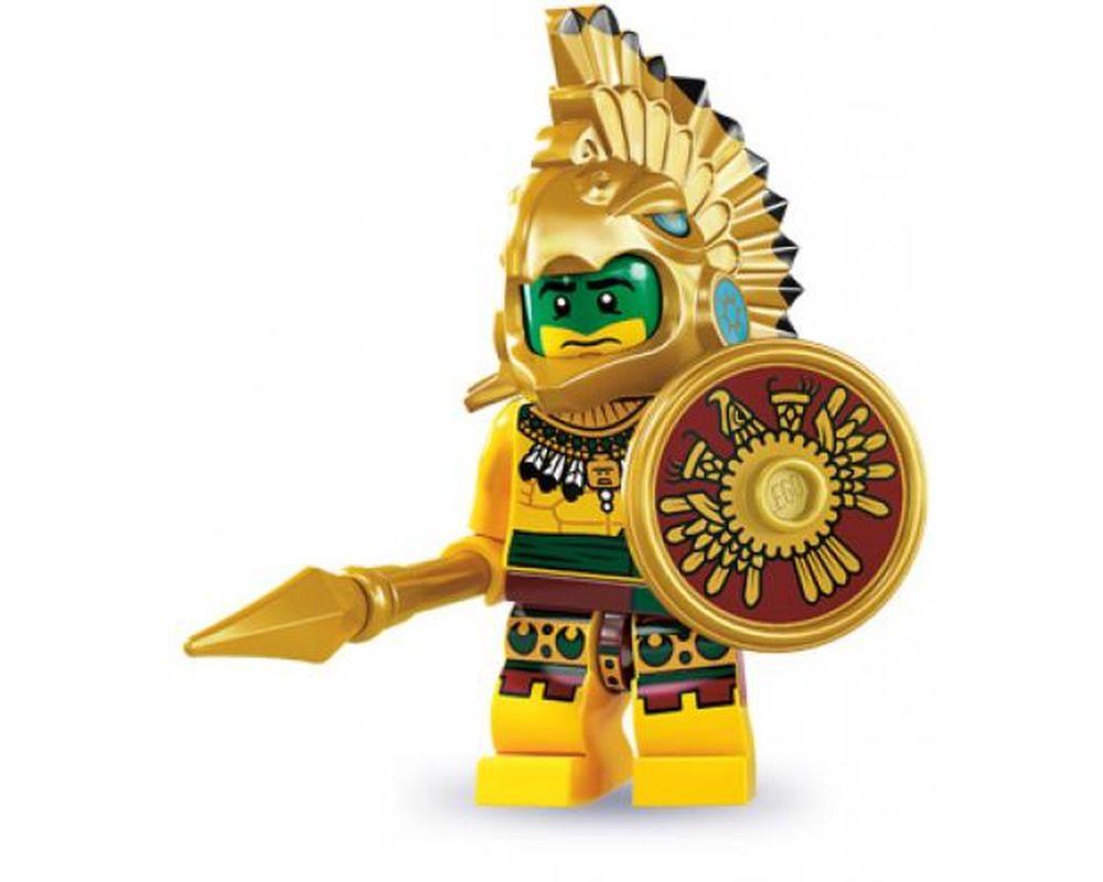 LEGO Set 8831-2 Aztec Warrior - Complete Set (LEGO - Model)