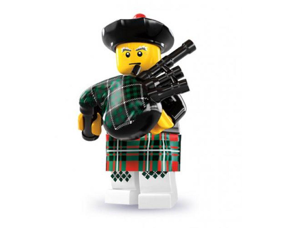 LEGO Set 8831-6 Bagpiper - Complete Set (Model - A-Model)