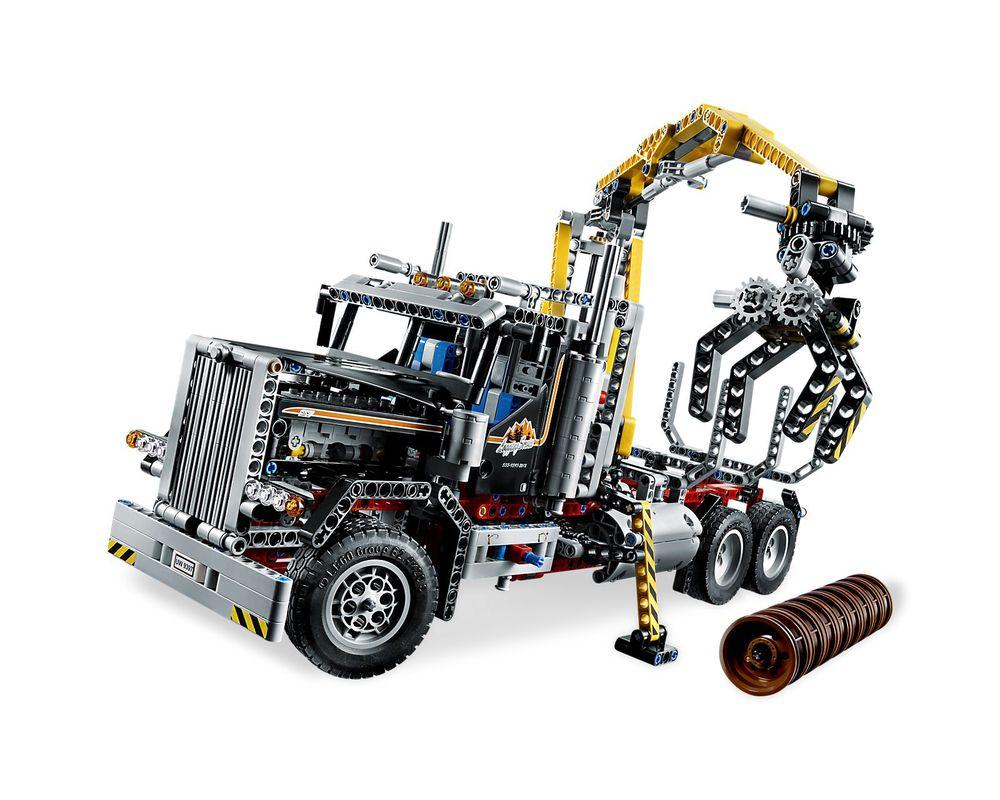 LEGO Set 9397-1 Logging Truck
