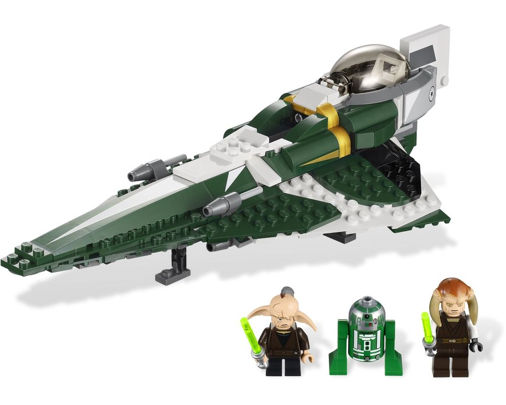 LEGO Set 9498-1 Saesee Tiin's Jedi Starfighter (Model - A-Model)
