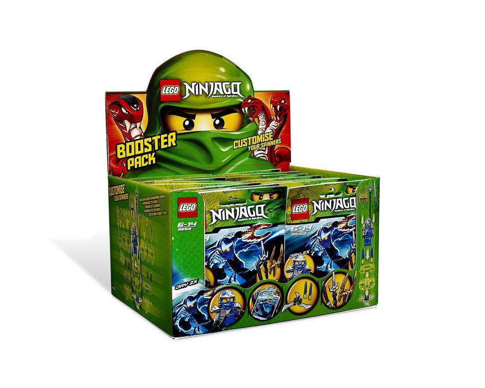 LEGO Set 9553-1 Jay ZX