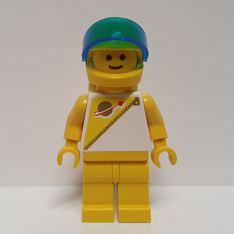 Lego Space Minifigure Futuron Yellow with Airtanks 6953 6990!