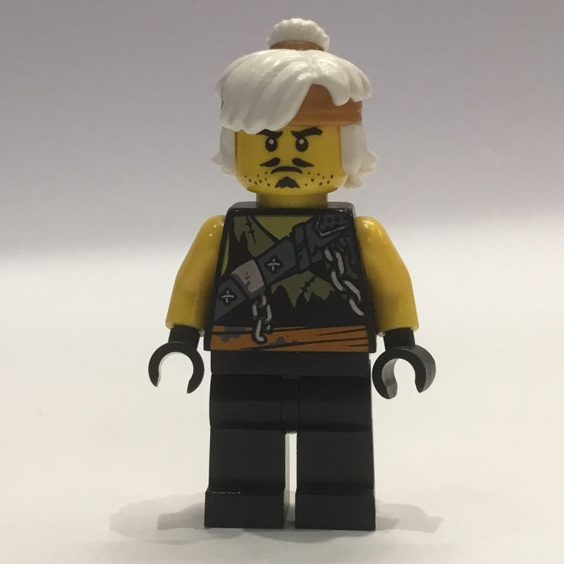LEGO Ninjago Teen Wu Dragon Hunter Disguise with Battle Staff From Set 891945