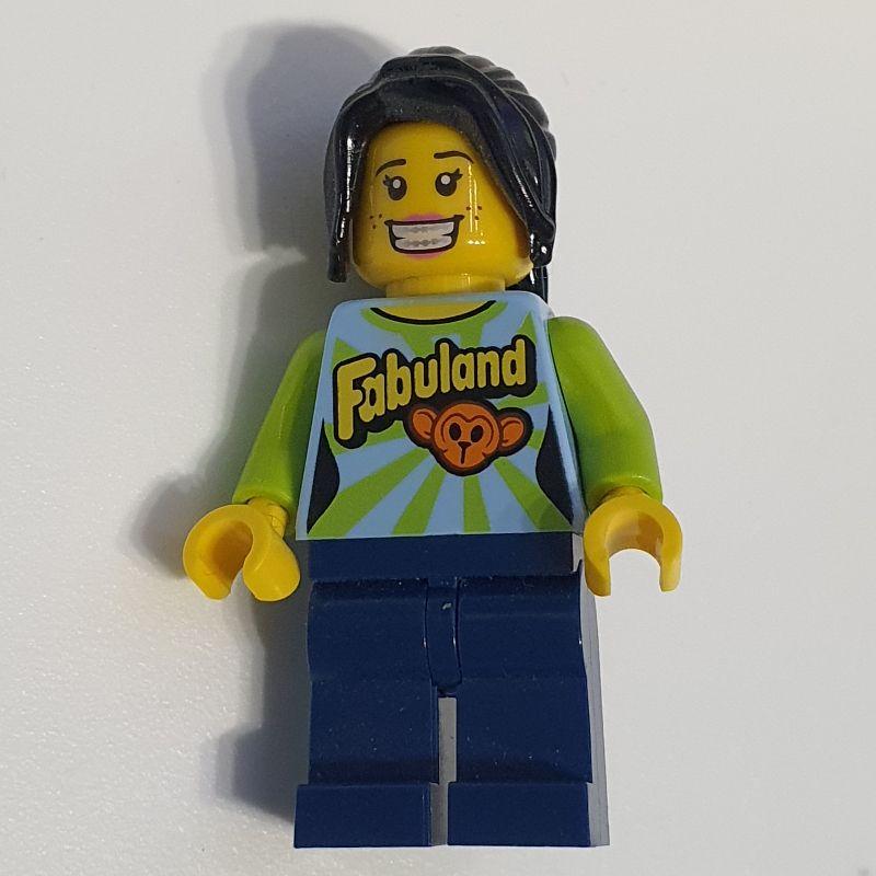 2961 FP Lego Figur Frau Sharkira aus Movie